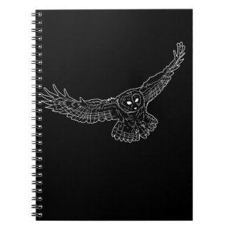 White Owl Sketch Notebook