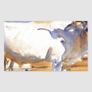 White Ox at Siena by John Singer Sargent