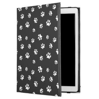 """White Paw Prints Pattern iPad Pro 12.9"""" Case"""