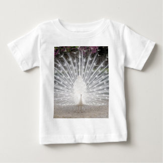 white peacock baby T-Shirt