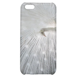 White Peacock iPhone 4 Case