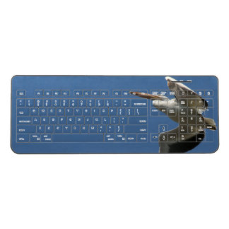 White Pelican Bird Wildlife Wireless Keyboard