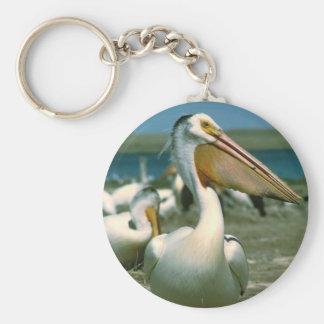 White Pelican Keychain