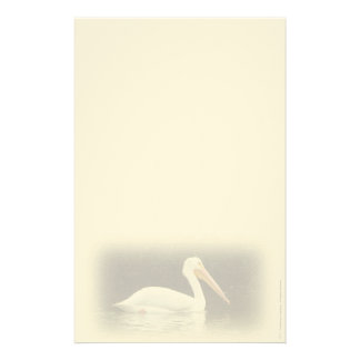 White Pelican Personal Stationery