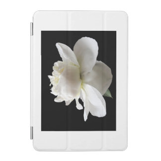 white peony iPad mini cover