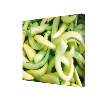 White Peppers Photo Canvas