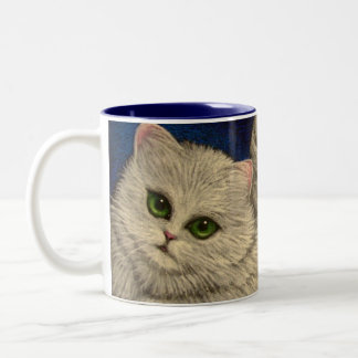 WHITE PERSIAN ANGEL CAT  Mug