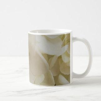 White Petals Hydrangea Mug