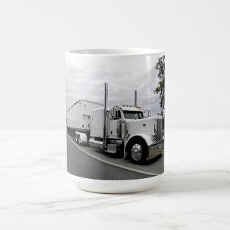 White Peterbilt 379 Mug