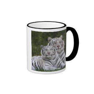 White phase, Bengal Tiger, Tigris Coffee Mug