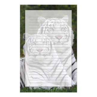 White phase, Bengal Tiger, Tigris Stationery