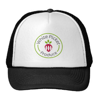 White Picket Produce Apparel Trucker Hat