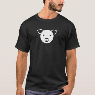 White Pig, Piggy, Leather, Dom, LGBT, Gay, Piggish T-Shirt