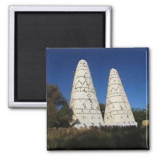 White Pigeon Houses, EGYPT Magnet