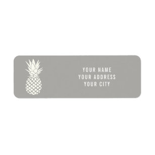 white pineapple on any colour background