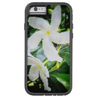 White Pinwheel Flower iPhone 6 Case