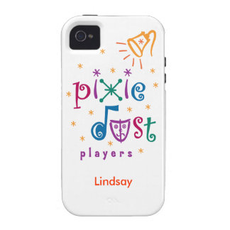 White Pixie Dust Players iPhone 4 Case