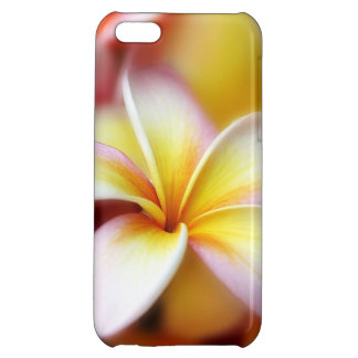 White Plumeria Frangipani Hawaii Flower Hawaiian iPhone 5C Case