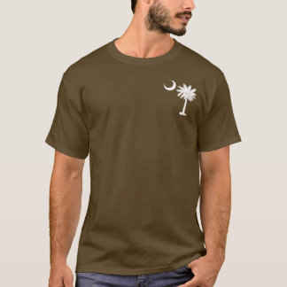 White Pocket Palmetto T-Shirt