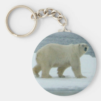 White Polar Bear Keychain