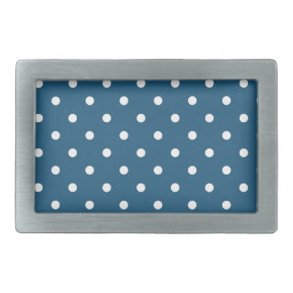 White polka-dots belt buckle