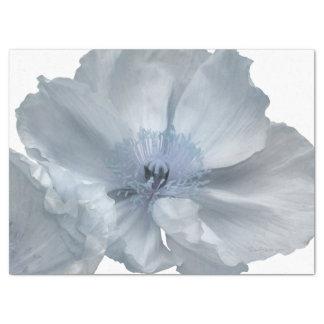 White Poppy Tissue Paper