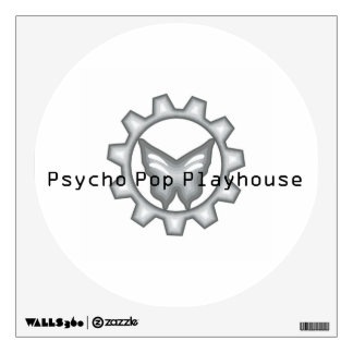 White Project Logo Wall Decal 1