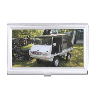 White Puch Haflinger Business Card Holders