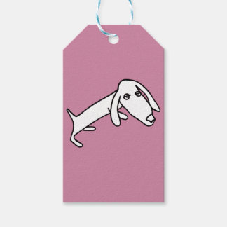 White puppy pack of gift tags