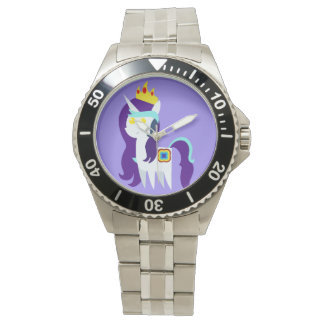 White Quadrupedal Character STAINLESS STEEL WATCH