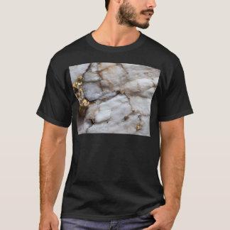 White Quartz with Gold Veining T-Shirt