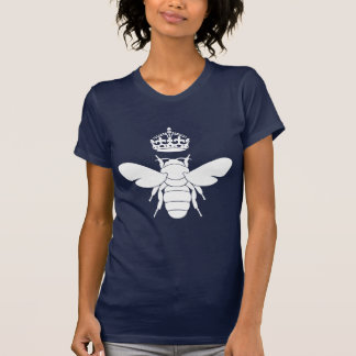 White Queen Bee Logo Are You A Queen Bee T-shirts
