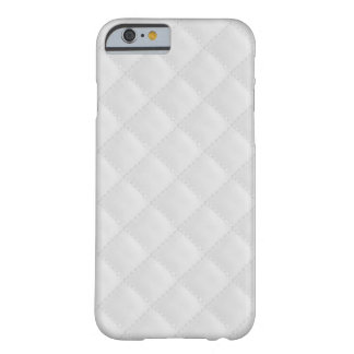 White Quilted Leather Barely There iPhone 6 Case