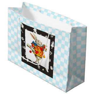 White Rabbit 2 Large Gift Bag