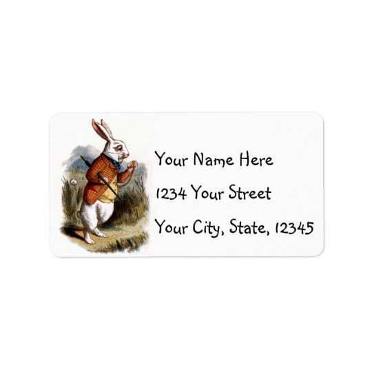 White Rabbit Address Labels