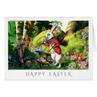 "White Rabbit | ""Alice in Wonderland"" Easter Cards"