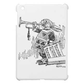 White Rabbit - Alice in Wonderland iPad Mini Cases