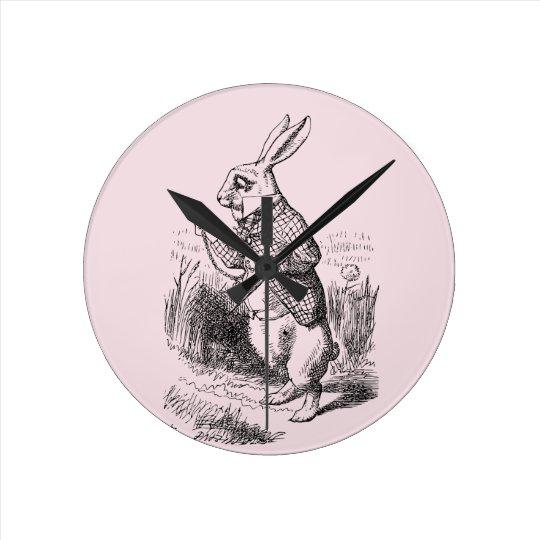 White Rabbit_Alice in Wonderland Wall Clocks