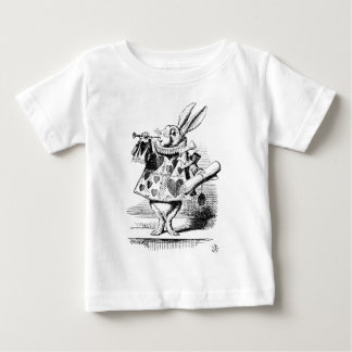 White Rabbit Baby T-Shirt