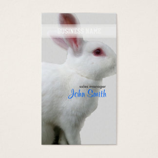 White Rabbit Business Card