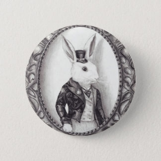White Rabbit - Button