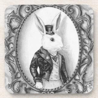 White Rabbit Coaster Alice in Wonderland Coaster
