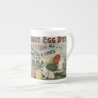 White Rabbit Egg Dye Tea Cup