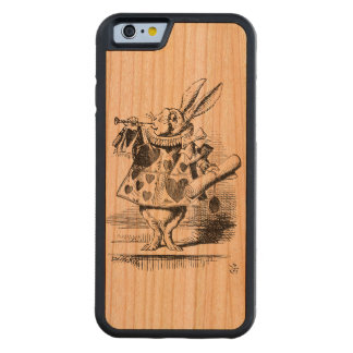 white rabbit iPhone 6 Carved Cherry iPhone 6 Bumper Case