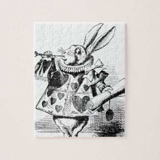 White Rabbit Jigsaw Puzzle