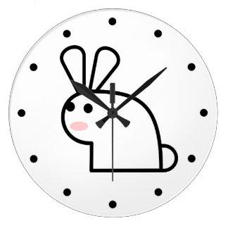 White Rabbit Large Clock