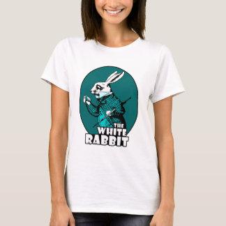 White Rabbit Logo Teal T-Shirt