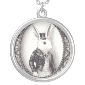 White Rabbit Necklace White Rabbit Jewelry