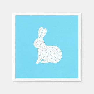 White Rabbit Paper Napkin