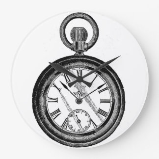 White Rabbit Pocket Watch Clock